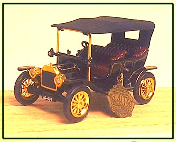 model t ford scale models