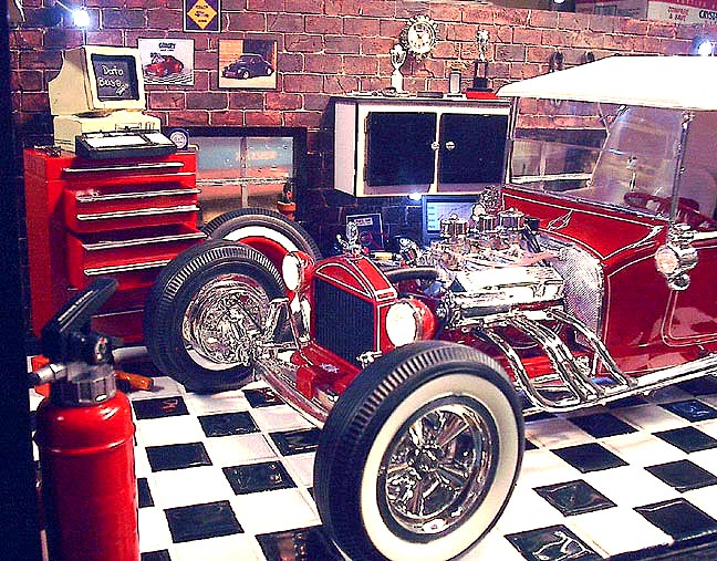 Decorating Ideas > Gallery For > Hot Rod Garage Decor ~ 065649_Hot Rod Garage Decorating Ideas