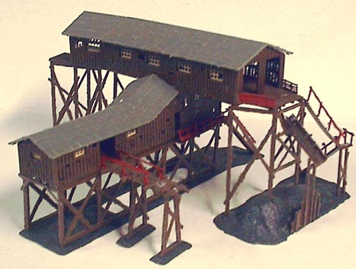 123 Studio Toybox Collectibles N Scale Train Buildings